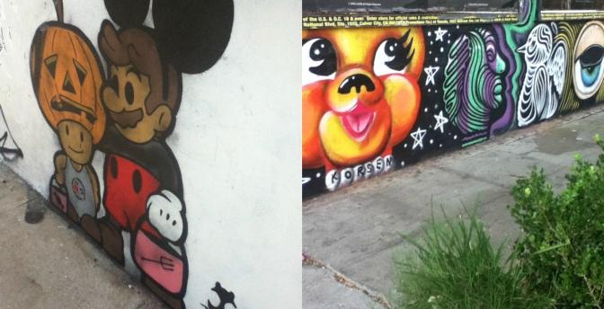 Hollywood's Famed Street Art: Mirth of Melrose Ave.