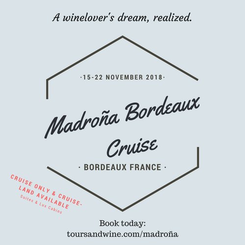 Madroña Bordeaux Cruise